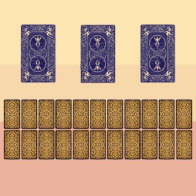 Tarot Oui ou Non avec 3 cartes